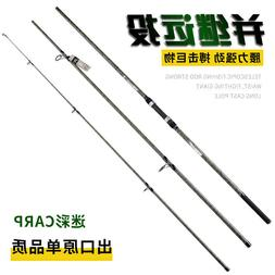 Surf Spinning Rod 13FT 3 Pieces Travel Bass Carp Fishing Rod